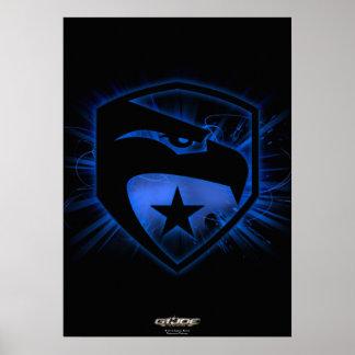 Heritage Blue Badge Poster