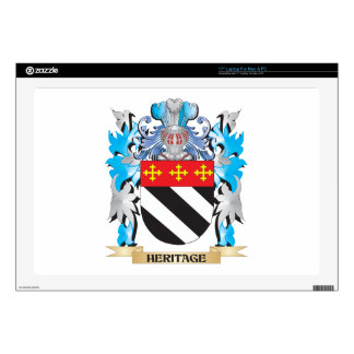 Heritage Coat of Arms - Family Crest Laptop Skin