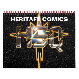 Heritage Comics HSQ Calender Calendar