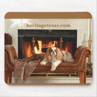 Heritage Dog Mouse Pad Light Brown