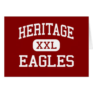 Heritage - Eagles - Middle - Longmont Colorado Greeting Card