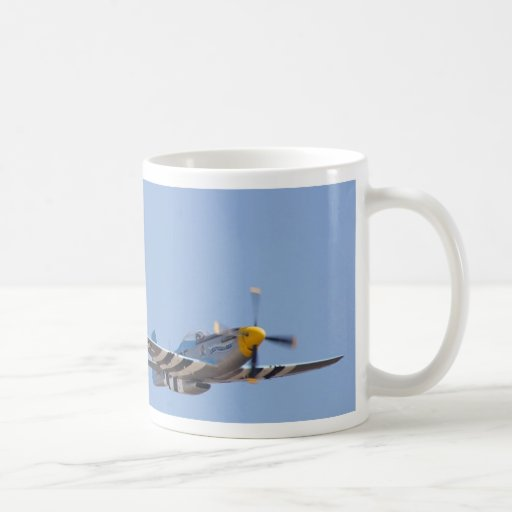 Heritage Flight P 51 Mustang And F 17 Classic White Coffee Mug