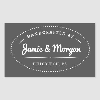 Heritage Handcrafted Name Label