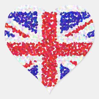 Heritage Heart Sticker