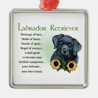 Heritage Labrador Retreiver Puppy Gifts Metal Ornament