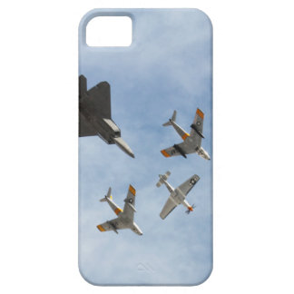 Heritage - P-51 Mustang,F-86-F Saber,F-22A Raptor iPhone 5 Cases