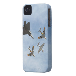 Heritage - P-51 Mustang,F-86-F Saber,F-22A Raptor Case-Mate iPhone 4 Cases