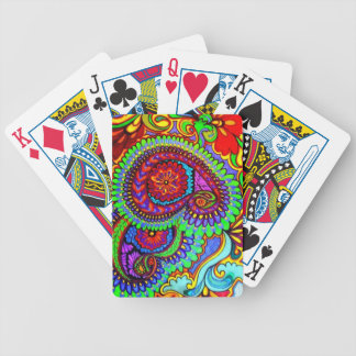 Heritage Paisley Bicycle Playing Cards