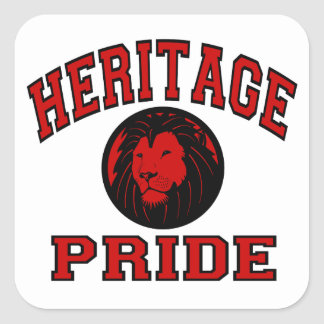 Heritage Pride Square Sticker