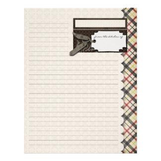 Heritage Recipe Sheet / Flyer