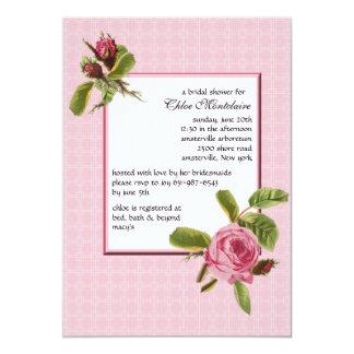 Heritage Rose Invitation