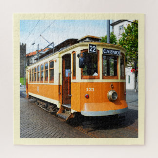 Heritage tram, Portugal Jigsaw Puzzle