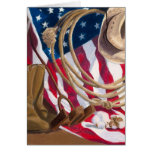 Heritage Western American Notecard by Tiffany Shed Greeting Cards