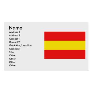 Herkdestad de Vlag, Bélgica Tarjetas De Visita