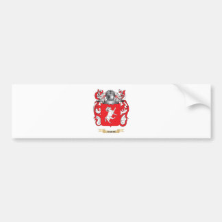 Herm Coat of Arms (Family Crest) Car Bumper Sticker