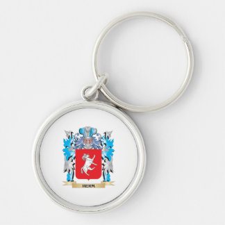 Herm Coat of Arms - Family Crest Keychain