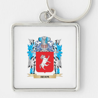 Herm Coat of Arms - Family Crest Key Chains