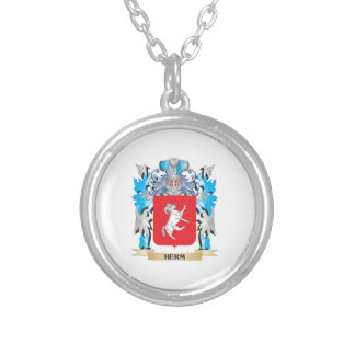 Herm Coat of Arms - Family Crest Necklaces