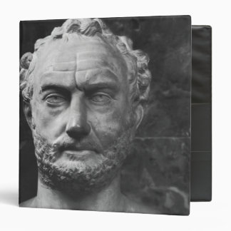 Herm of a man, said to be Thucydides 3 Ring Binder