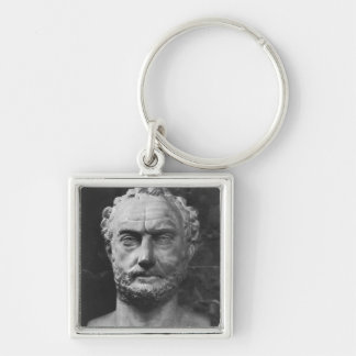 Herm of a man, said to be Thucydides Keychains