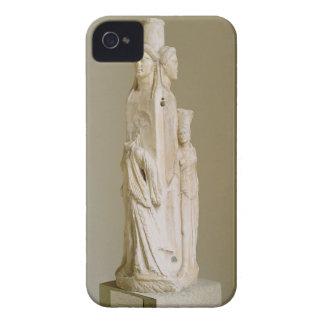Herm triforme de Hecate, escultura de mármol, el iPhone 4 Case-Mate Fundas