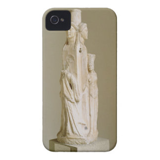 Herm triforme de Hecate, escultura de mármol, el P iPhone 4 Case-Mate Protector