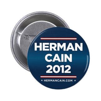 Herman Cain 2012 Button