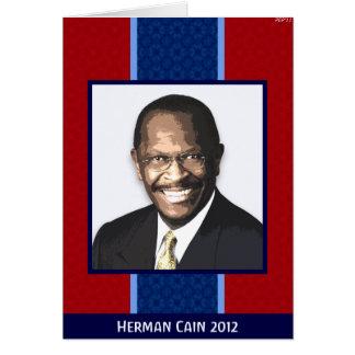 Herman Cain 2012 Card