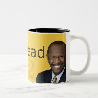 Herman Cain 2012 Cornbread Two-Tone Coffee Mug