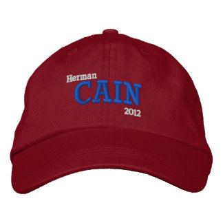 Herman Cain 2012 Embroidered Baseball Hat