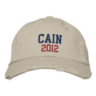 Herman Cain 2012 Baseball Cap