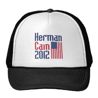 HERMAN CAIN 2012 HAT