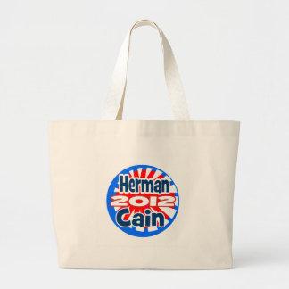 Herman Cain 2012 Large Tote Bag
