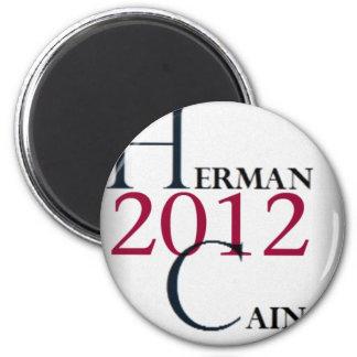 herman cain 2012 !!! magnet