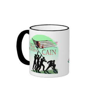 Herman Cain 2012 Ringer Coffee Mug
