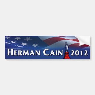 Herman Caín 2012 Pegatina Para Auto