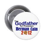 Herman Caín 2012 Pin