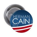 Herman Cain 2012 Pins