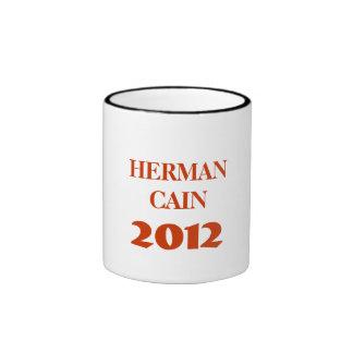 HERMAN CAÍN 2012 TAZAS