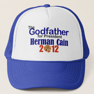 Herman Cain 2012 Trucker Hat
