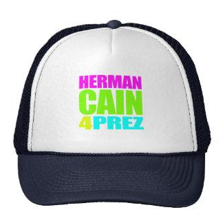 HERMAN CAÍN 4 PREZ GORRO DE CAMIONERO