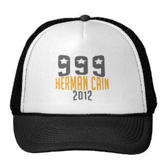 Herman Cain 999 Hats