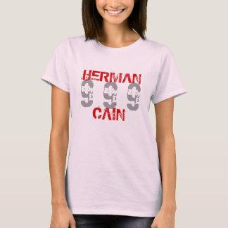 Herman Caín 999 para el presidente 2012 plan de Playera