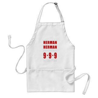 Herman Cain 999 Plan Adult Apron