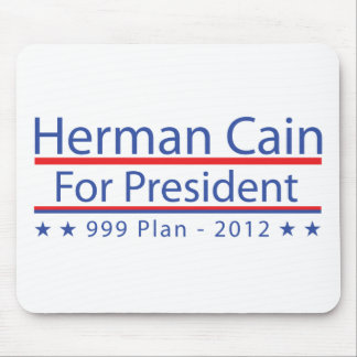 Herman Cain 999 Plan Mouse Pad