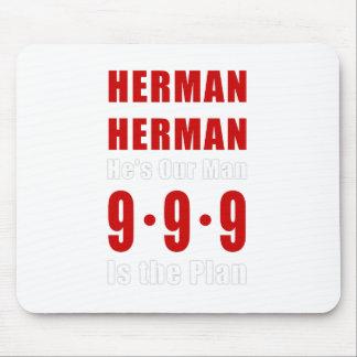 Herman Cain 999 Plan Mouse Pad