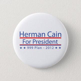 Herman Cain 999 Plan Pinback Button