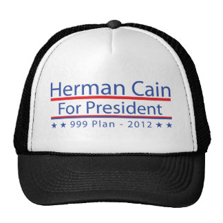 Herman Cain 999 Plan Trucker Hat
