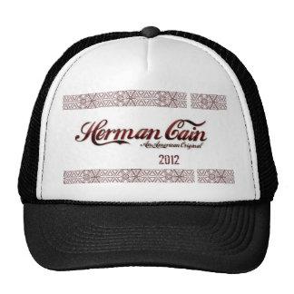 Herman Cain A American Original Hat