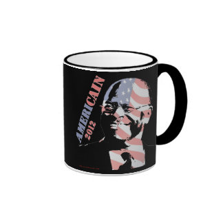 Herman Cain AmeriCain 2012 Ringer Coffee Mug